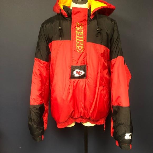 75cef62077e Men's Vintage Kansas City chiefs starter jacket L.  M_5bdba371c617777638ce02bb